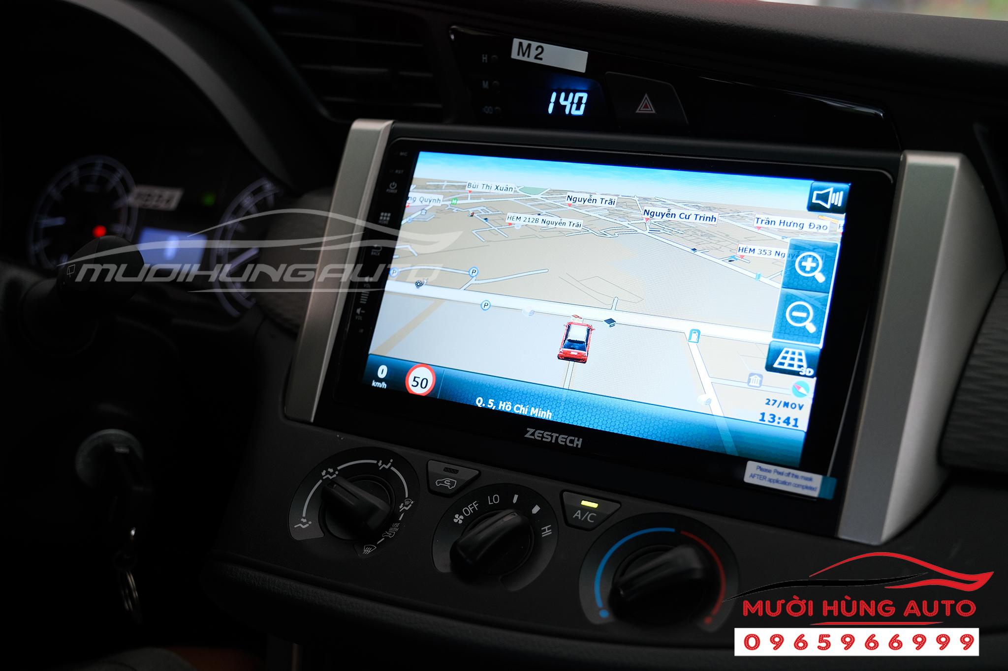 màn hình Toyota Innova 2018 Z500 Zestech