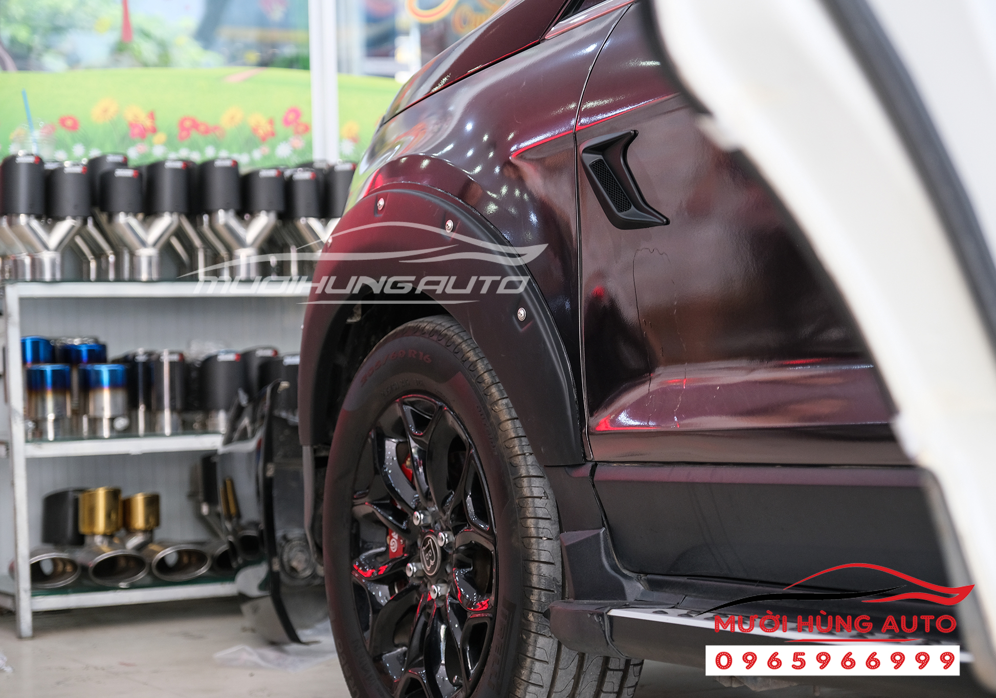 Ốp cua bánh xe Ecosport 2019-2020
