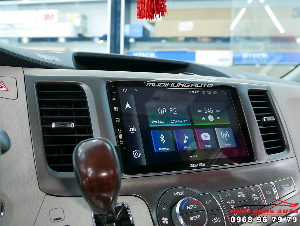 dvd Android 10 inch xe Toyota Sienna 2014 – Zestech Z800