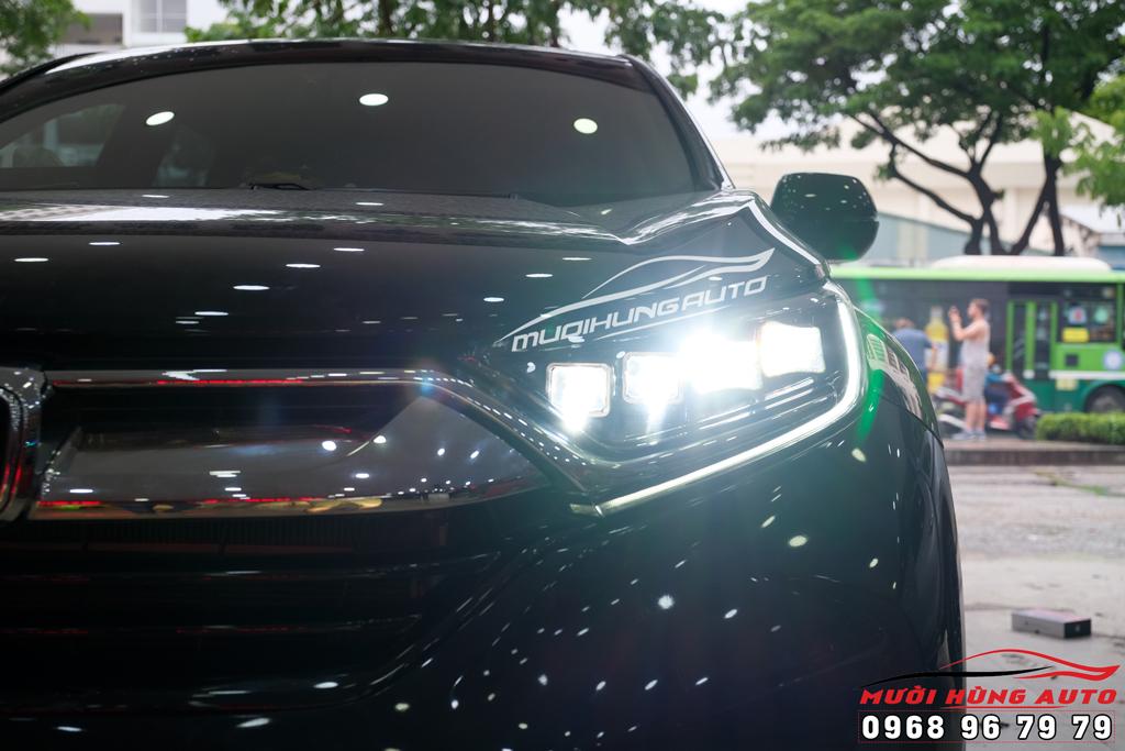 thay đèn nguyện cụm Honda CRV 2019-2020 kiểu Bugatti