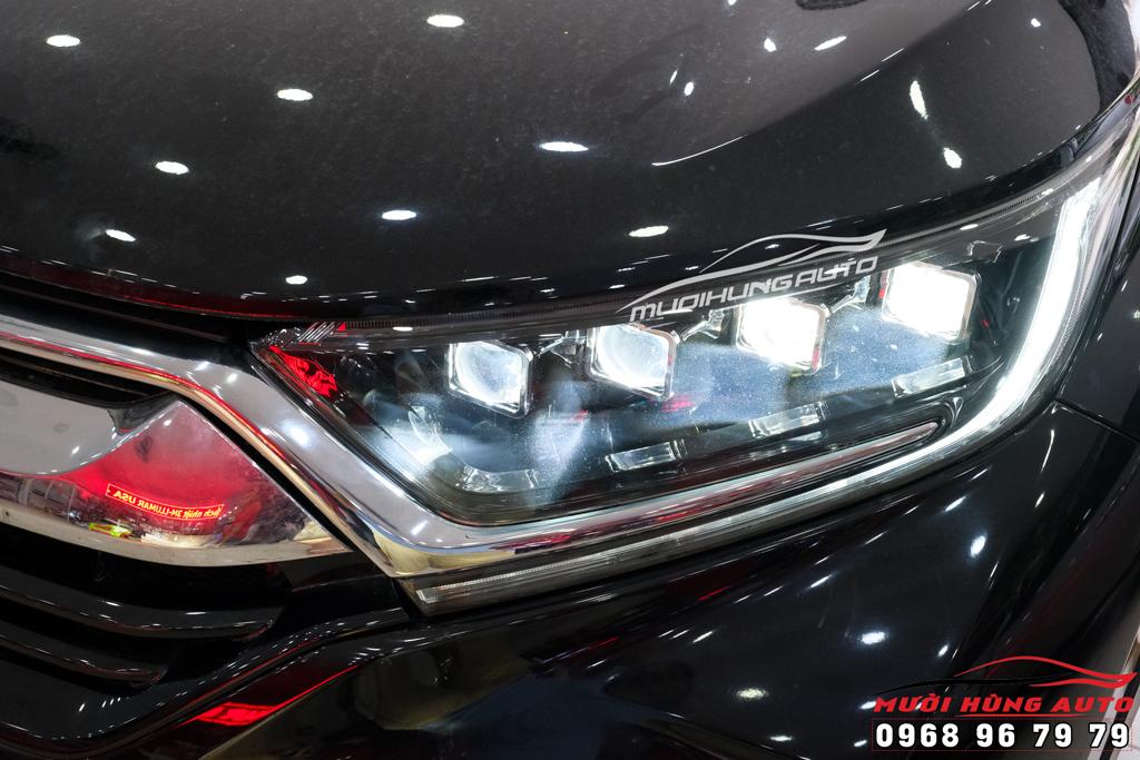 thay đèn nguyện cụm xe Honda CRV 2020 kiểu Bugatti