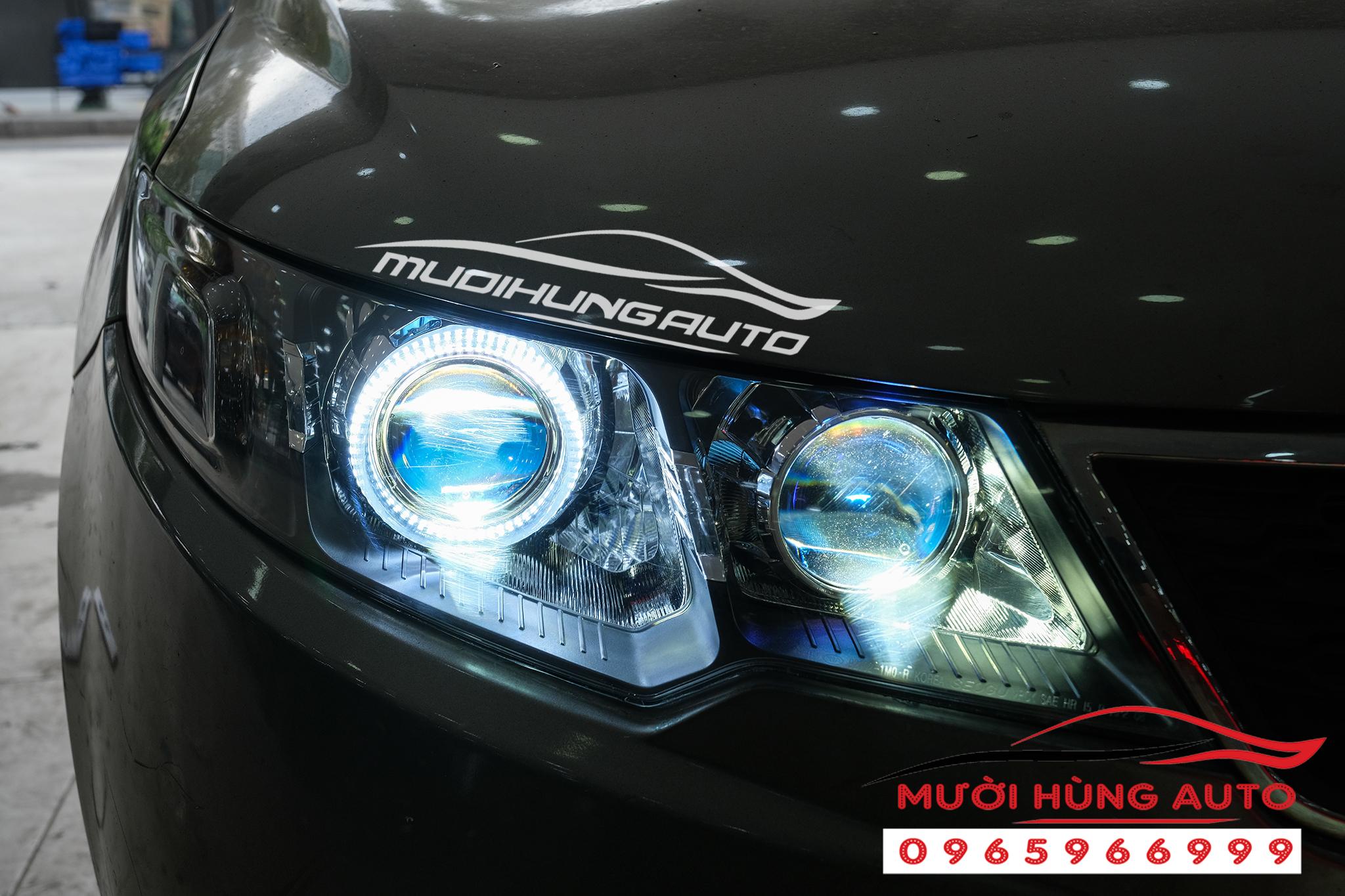 Độ bi led Domax Kia Cerato 2019 -2020 loại 2 cặp bi