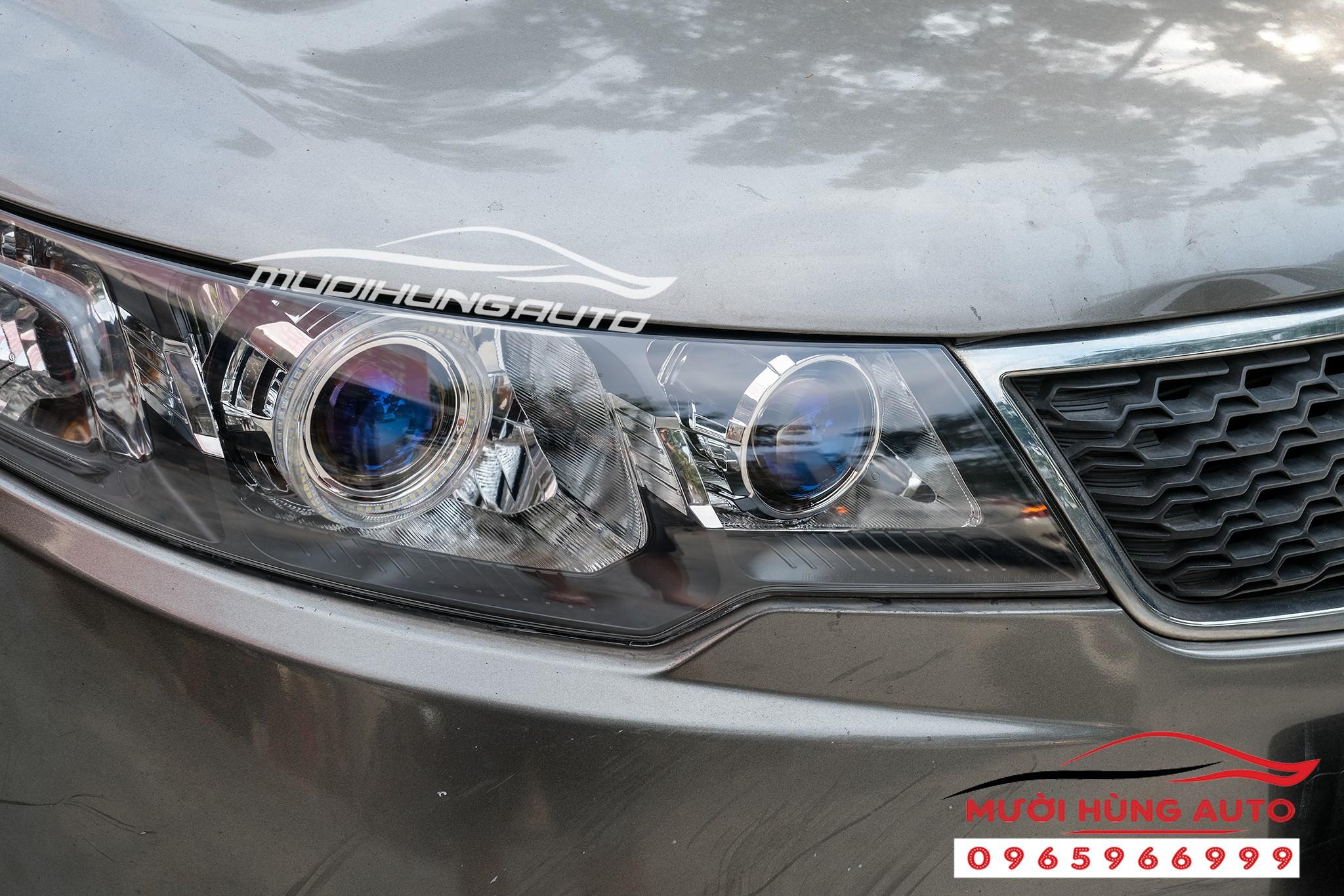 Độ bi led Domax xe Kia Cerato 2019 loại 2 cặp bi