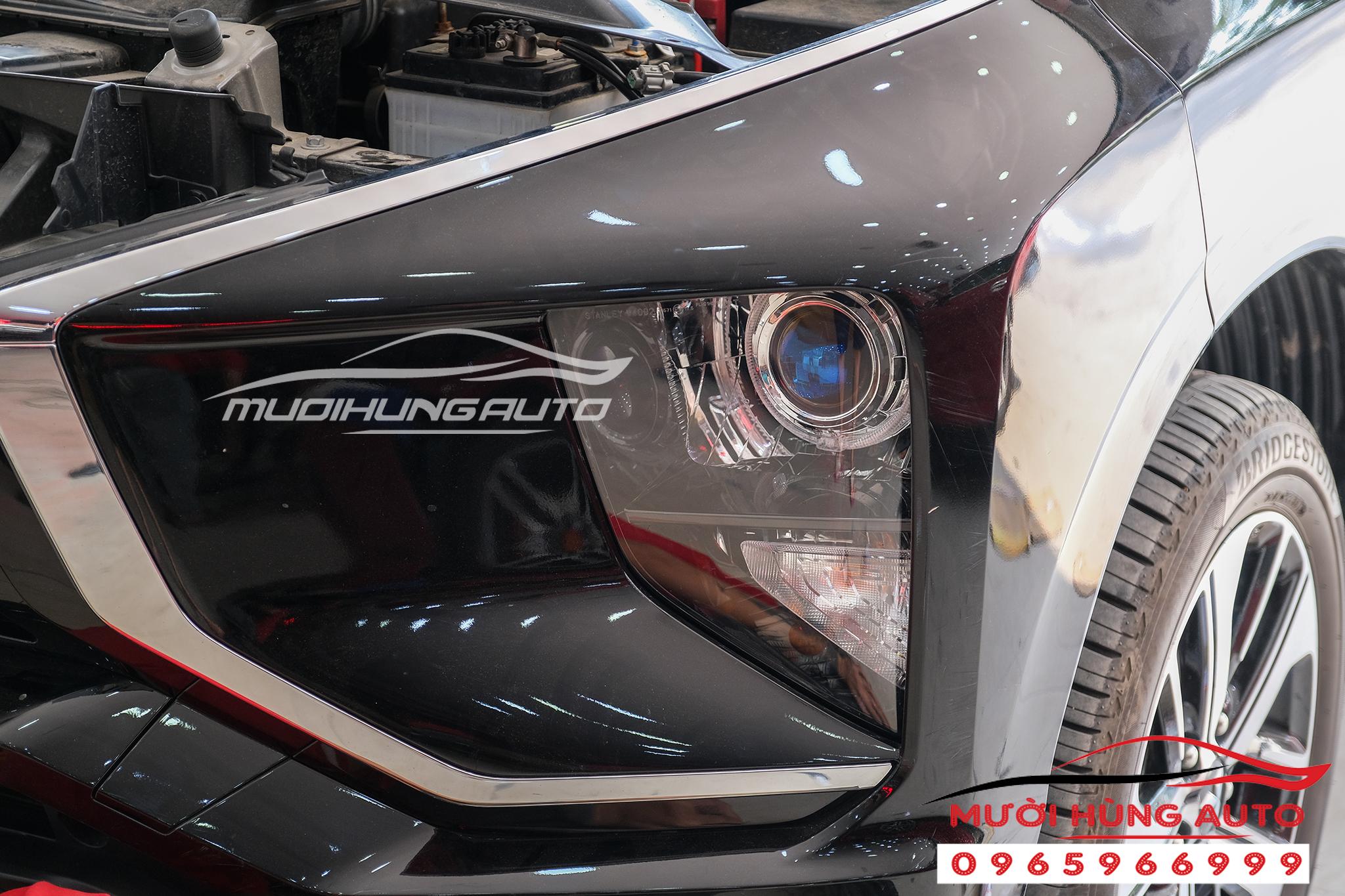 Độ bóng đèn bi led Domax xe Misu Xpander 2019-2020