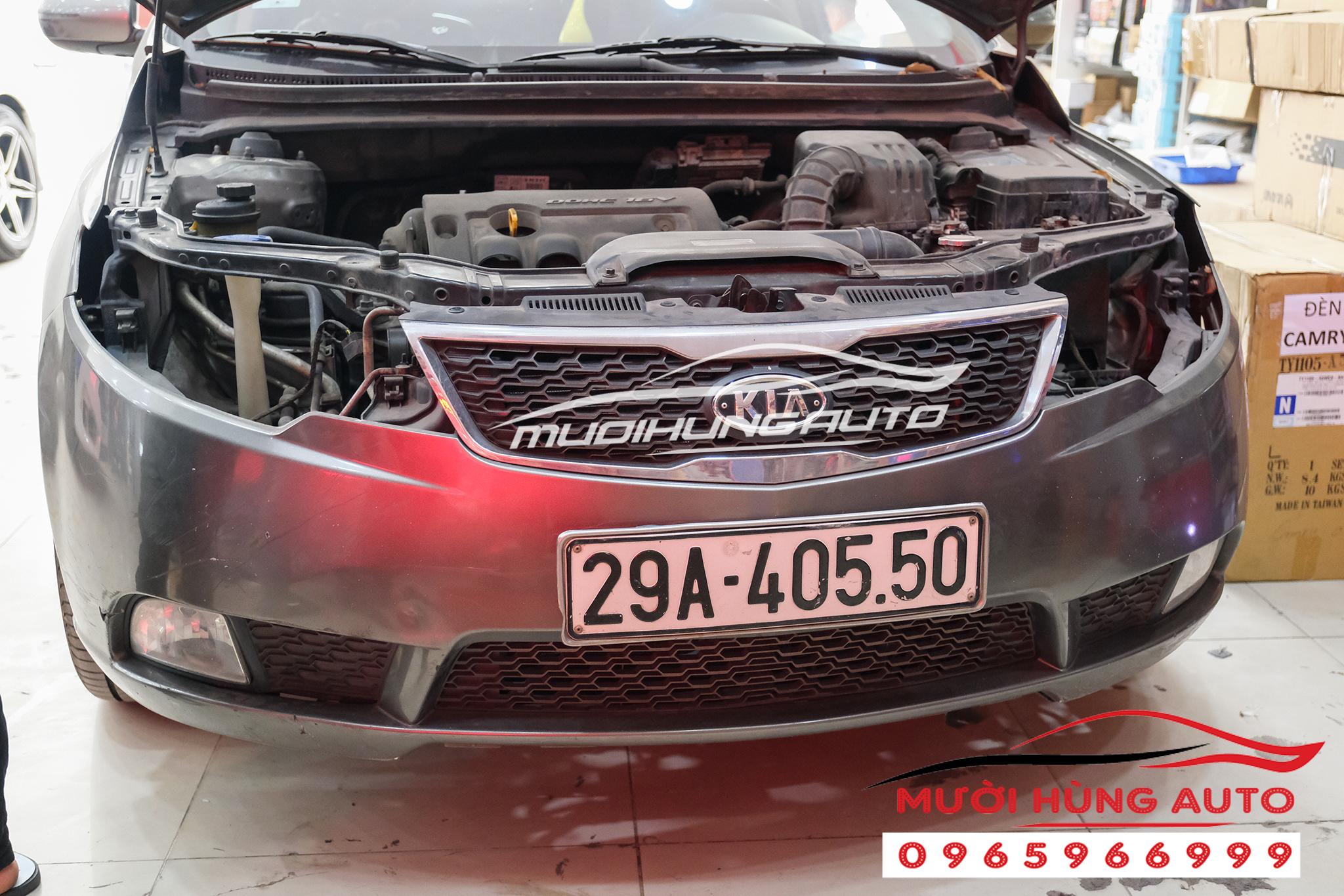 Độ đèn bi led Domax xe Kia Cerato 2019 -2020 loại 2 cặp bi