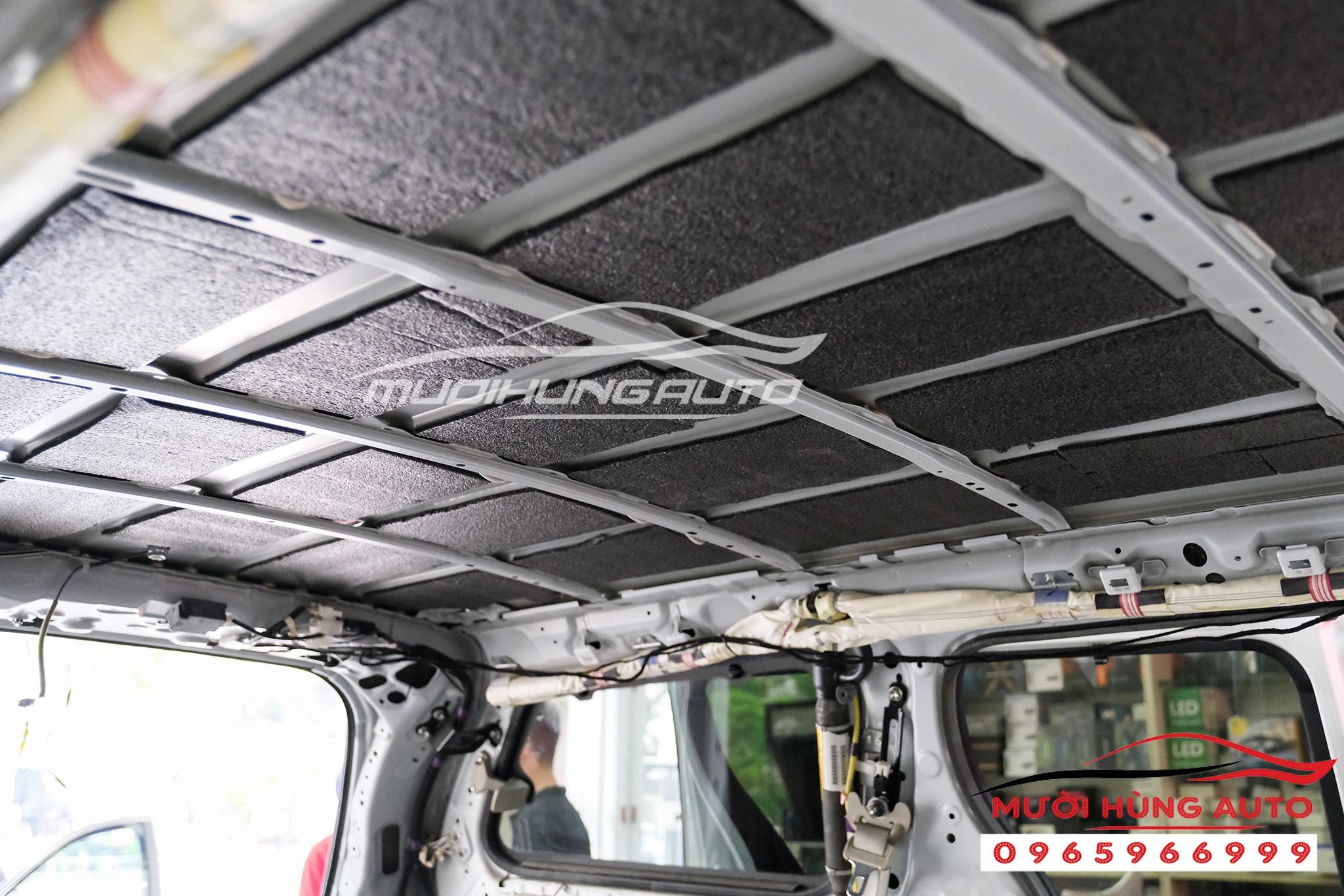 Vật liệu cách âm chống ồn hiệu quả cho xe Toyota Sienna