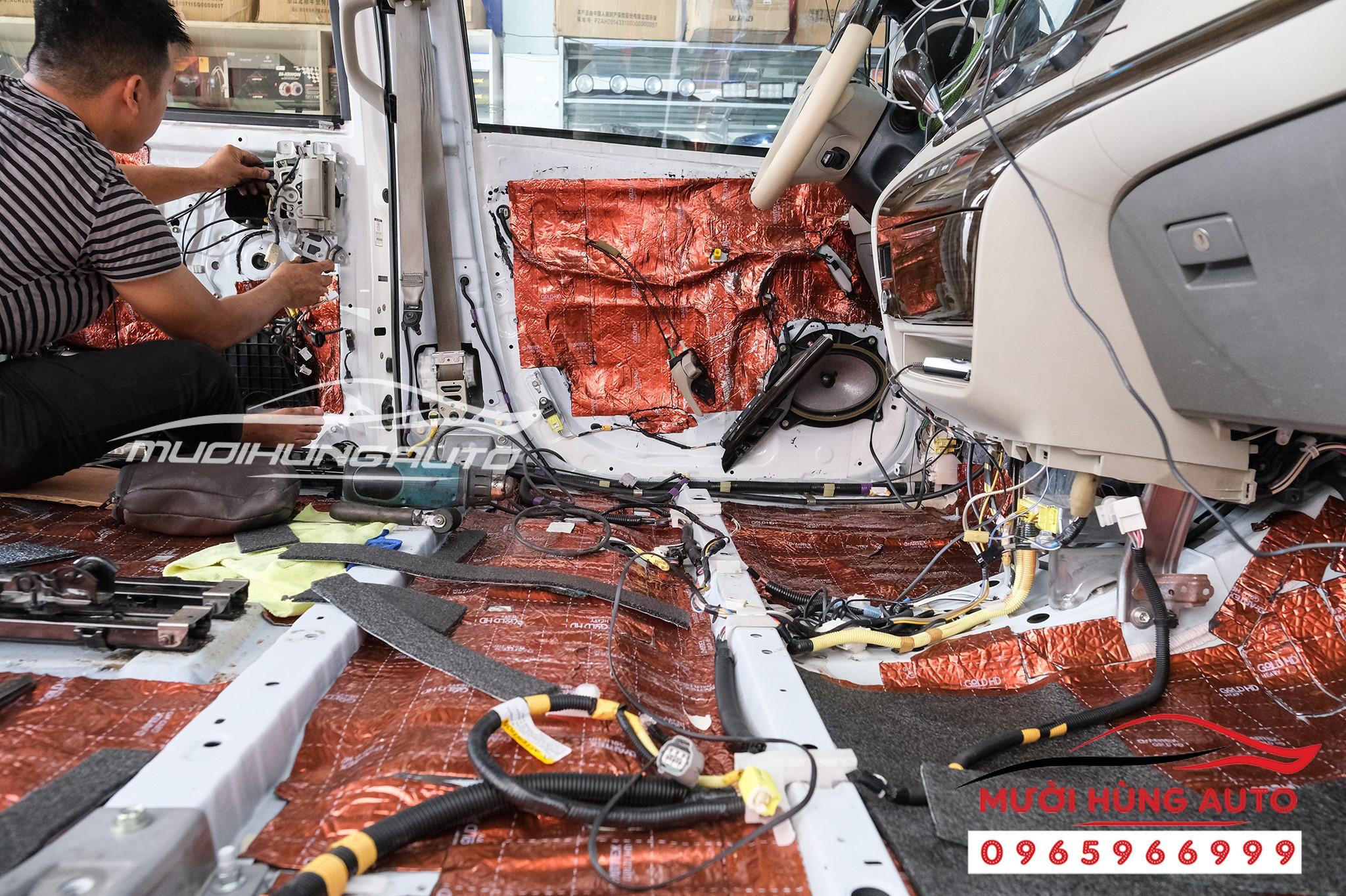 Vật liệu cách âm chống ồn xe Toyota