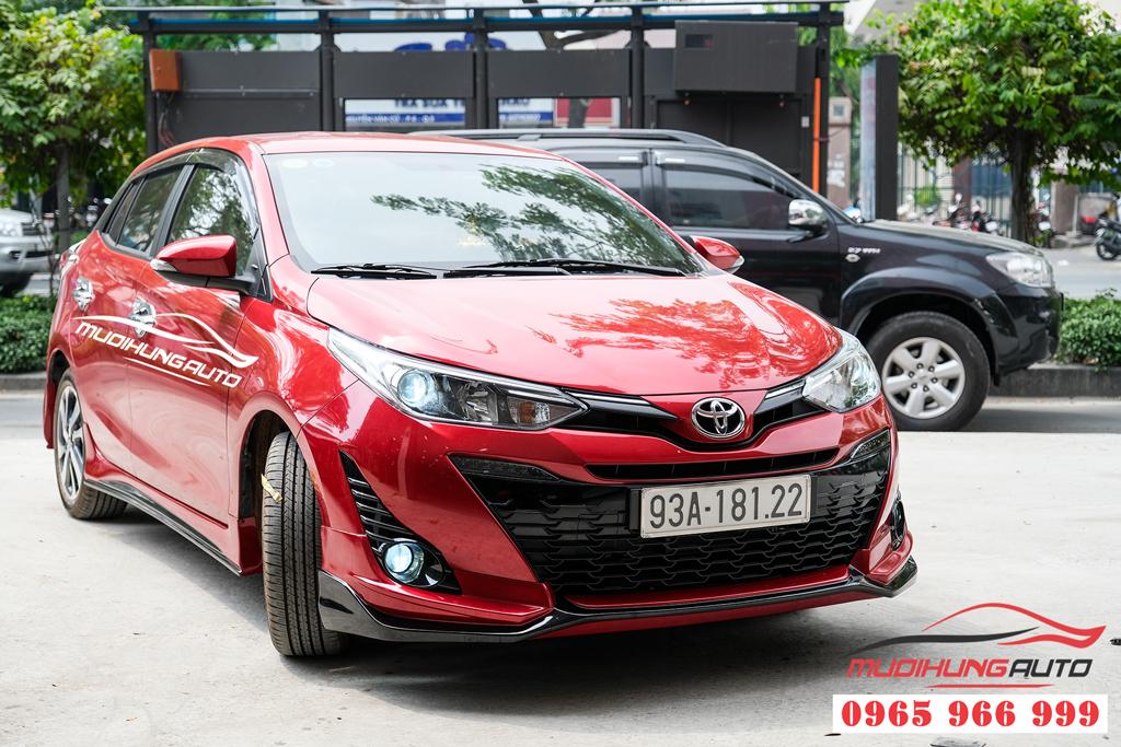 địa chỉ độ bi gầm và gắn body kit xe Toyota Yaris 2019-2020
