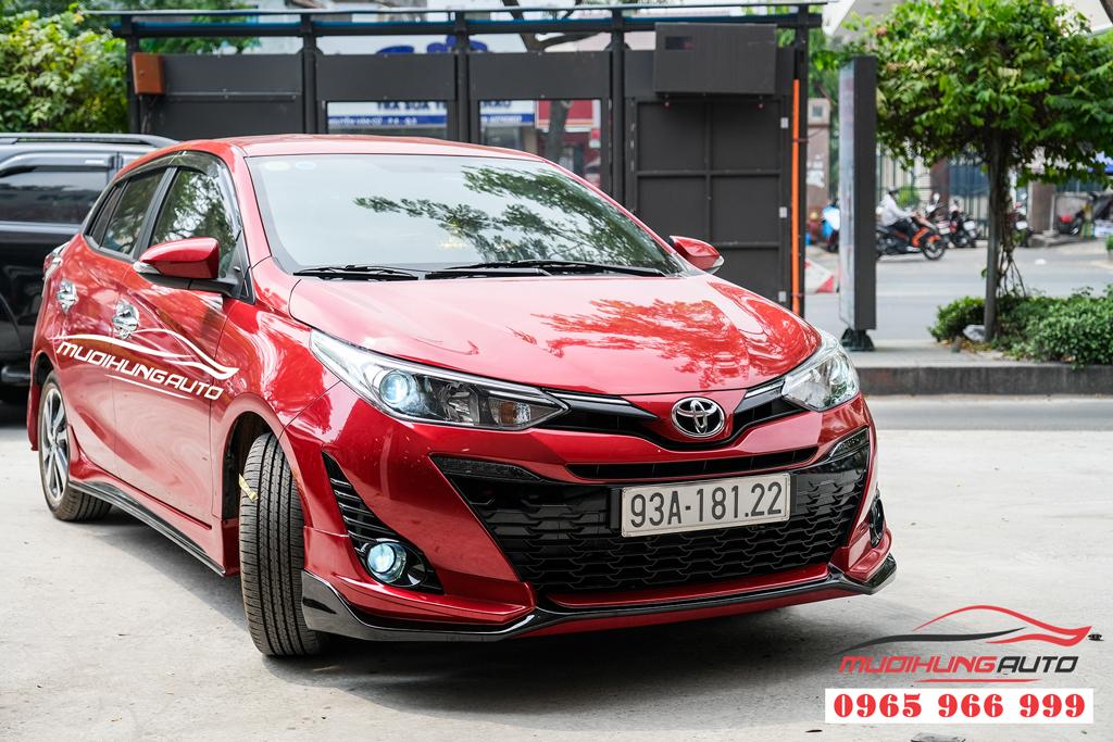 dịch vụ độ bi gầm và gắn body kit xe Toyota Yaris 2019-2020